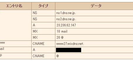 レンタルサーバでWiXとメールの両立