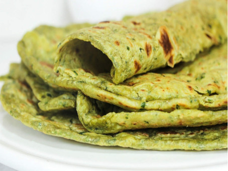 A healthy broccoli paratha recipe for lunch