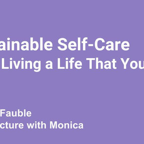 "A FREE Workbook to help you connect with ""Sustainable Self-Care"""