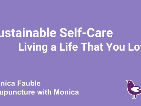 """A FREE Workbook to help you connect with """"Sustainable Self-Care"""""""