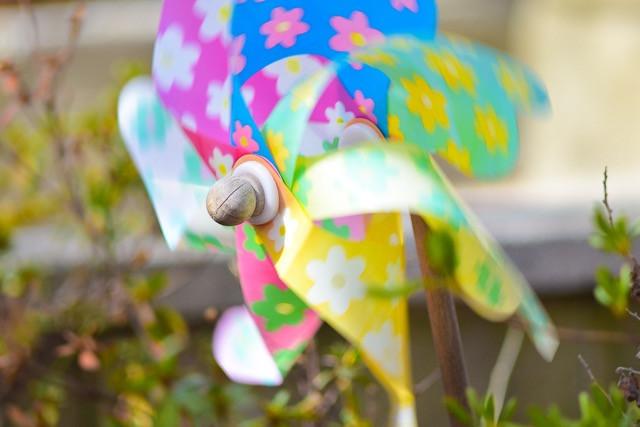 Pinwheel in the Wind