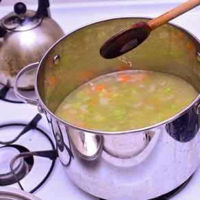 Warming Winter Recipe: Monica's Magical Vegan Split Pea Soup with Miso