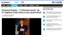 """Panama Papers : """"L'Homme assis"""" de Modigliani a été remis à son ayant-droit"""