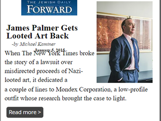 James Palmer Gets Looted Art Back