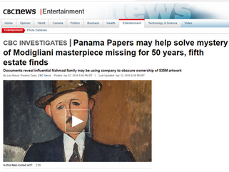 Panama Papers may help solve mystery of Modigliani masterpiece missing for 50 years, fifth estate fi