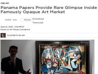Panama Papers Provide Rare Glimpse Inside Famously Opaque Art Market