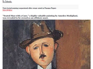 Nazi-looted painting sequestered after owner outed in Panama Papers