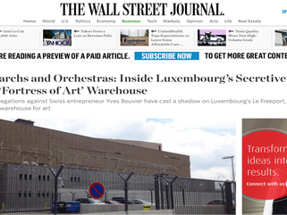 Oligarchs and Orchestras: Inside Luxembourg's Secretive Low-Tax 'Fortress of Art' Warehouse