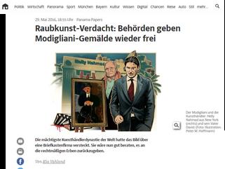 Raubkunst-Verdacht: Behörden geben Modigliani-Gemälde wieder frei