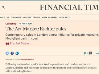 The Art Market: Richter rules