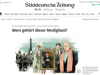 Wem gehört dieser Modigliani?