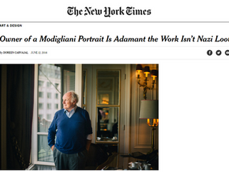 Owner of a Modigliani Portrait Is Adamant the Work Isn't Nazi Loot