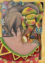 Riflettere Crepuscolare - Samira Hosseinzadeh - Olio su tela 84x60cm