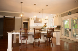 Large Painted White Kitchen