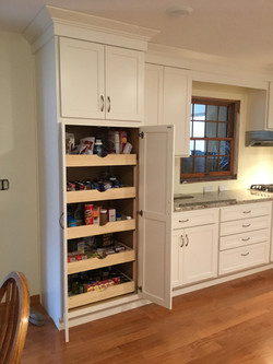 Pantry with Roll trays