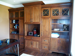 Custom Bookcase and Office