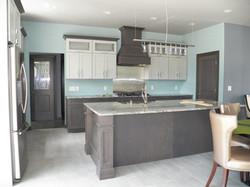 Kitchen In Custom Gray Tones
