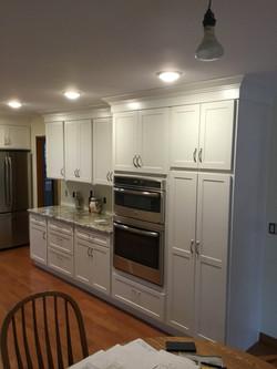 Kitchen Painted White