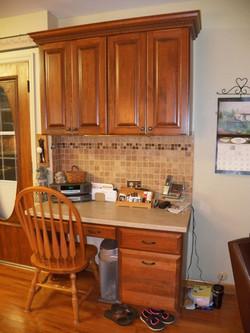 Cherry Kitchen Office Desk