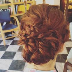 🔥Mermaid hair 🔥_Undone braids and buns
