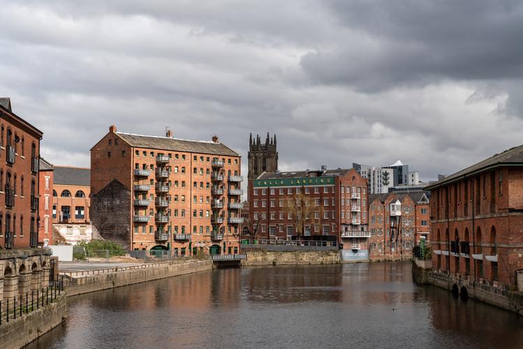 View from Leeds Bridge, Leeds, West Yorkshire
