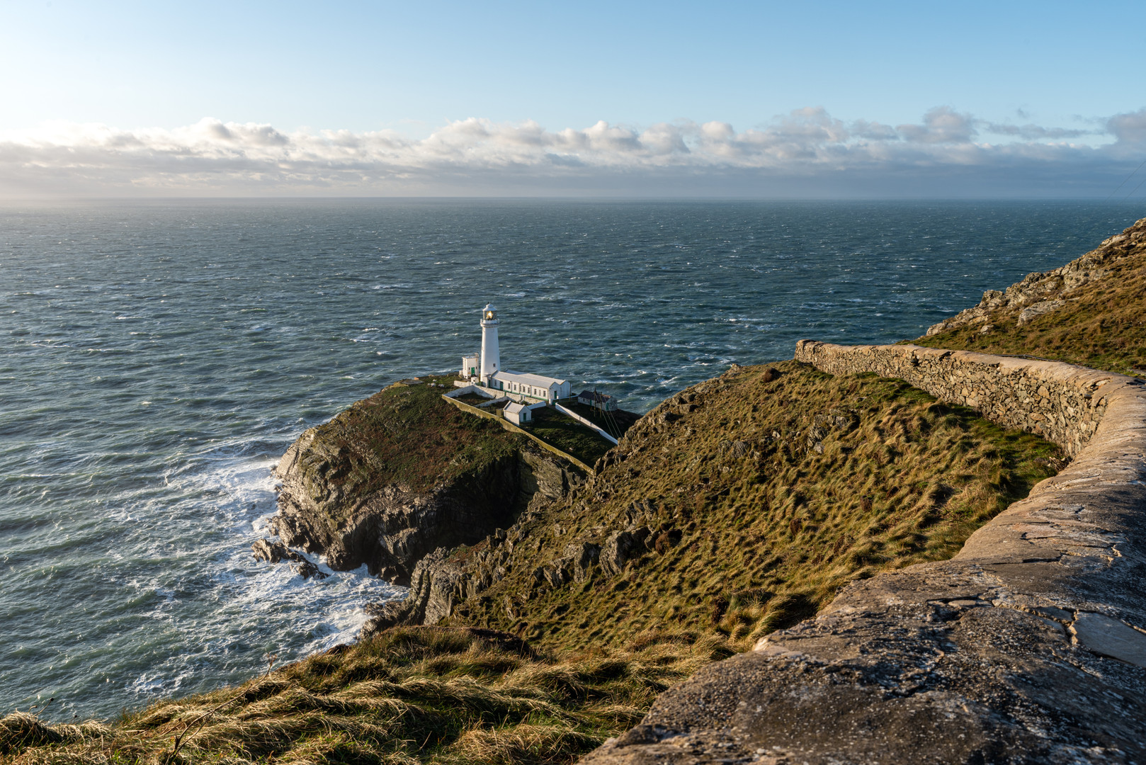 South Stack Lighthouse, Holy Island, Anglesey, Wales