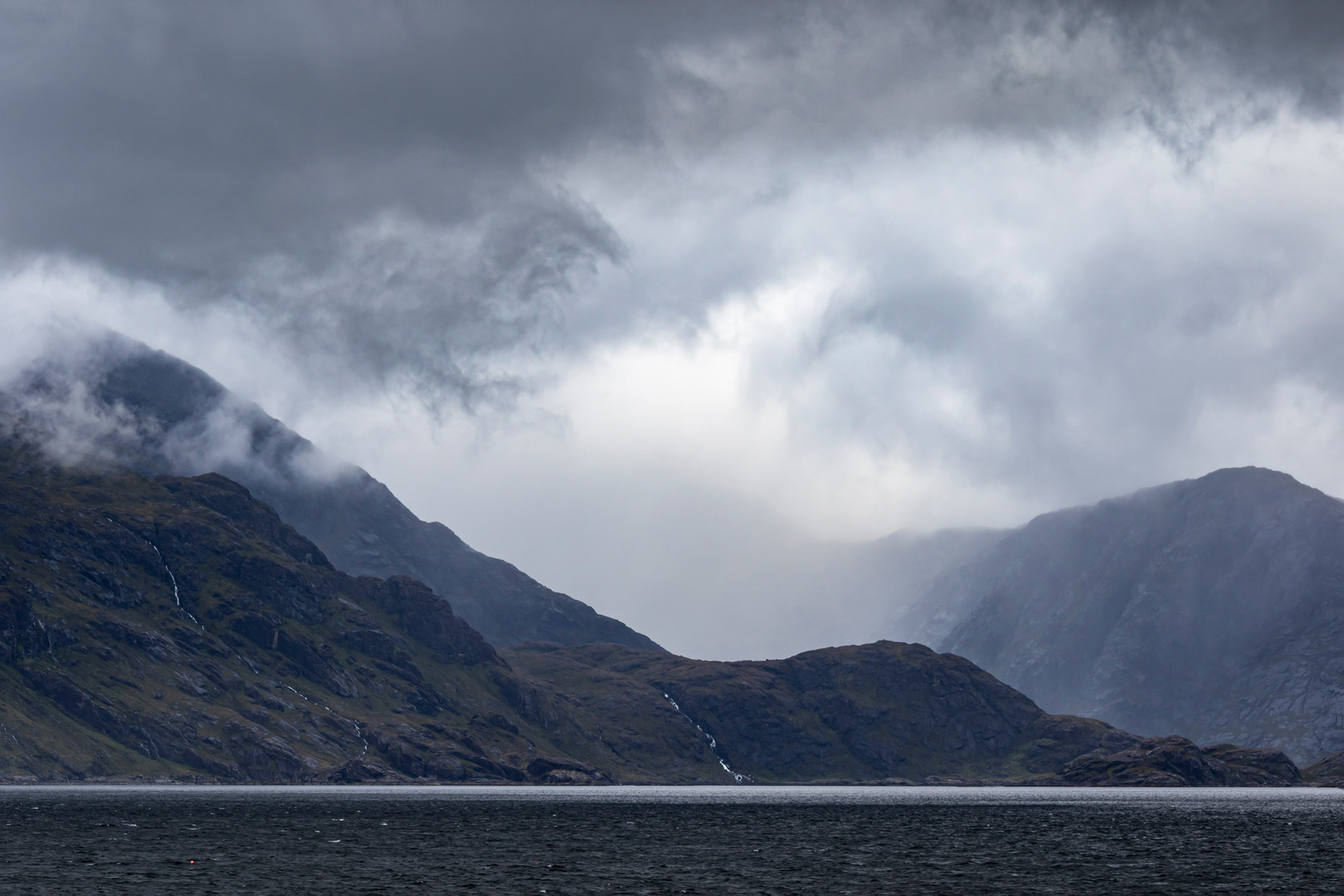 View Over Loch Scavaig from Elgol, Isle of Skye, Scotland