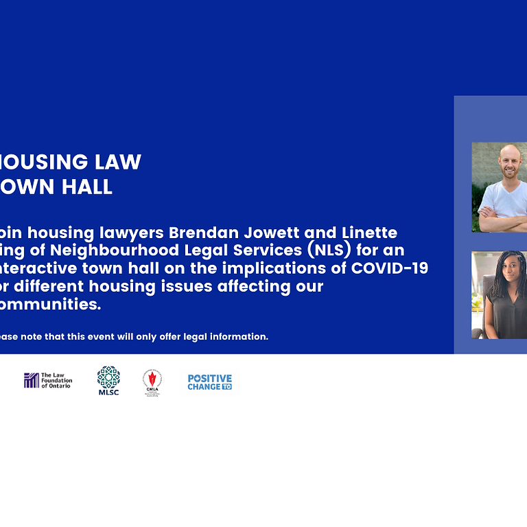 Housing Law Town Hall