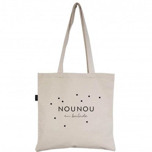 Tote bag Nounou en balade