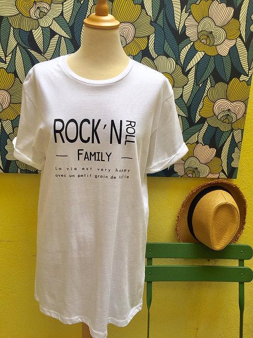 Tee-shirt Rock&Roll family