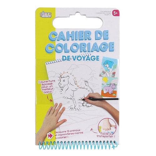 Cahier de coloriage avec poignée 24.3X15 cm