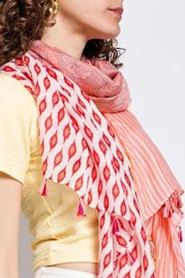 foulard rose