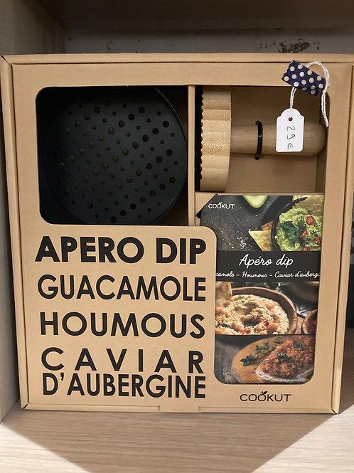 Ustensile pour Guacamole, Houmous et caviar d'aubergine