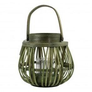 Lanterne photophore avec bougie