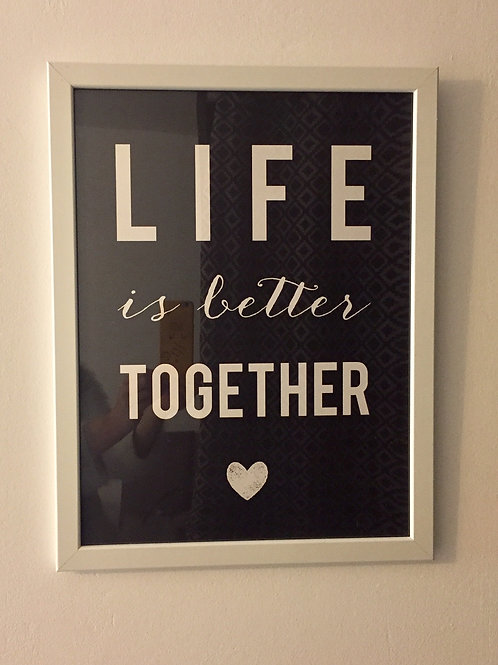 Tableau Life is better together