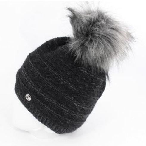 Bonnet tendance haut de gamme - noir