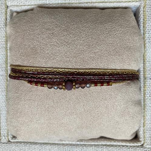 bracelet multi-tours ARGENT 925