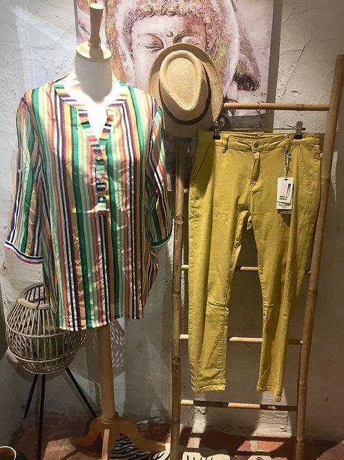 Pantalon jaune skinny
