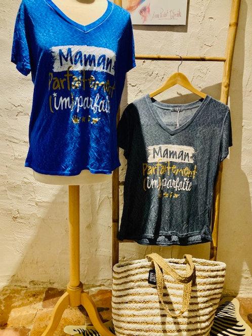 tee-shirt maman parfaitement imparfaite