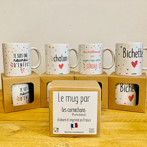 Mugs à message