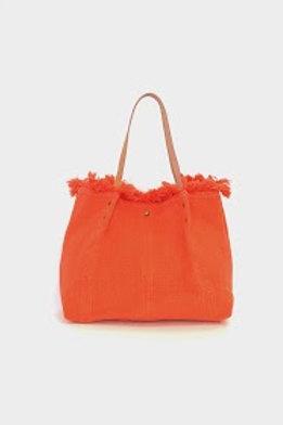 sac cabas en tissu orange