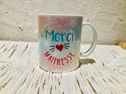 mug merci Maitresse