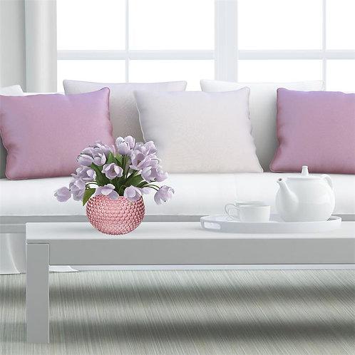 Vase DOLIA rose 18 cm