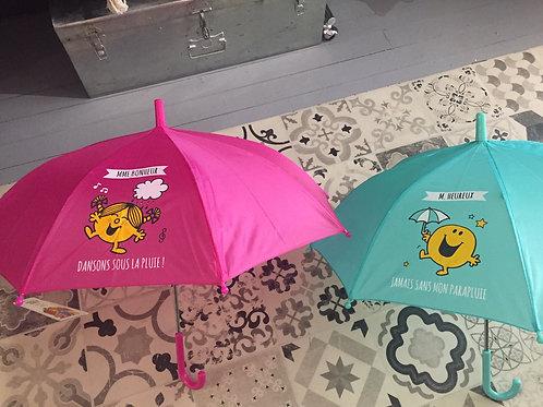 parapluie enfant Mr Mme