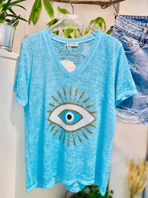 tee-shirt eyes