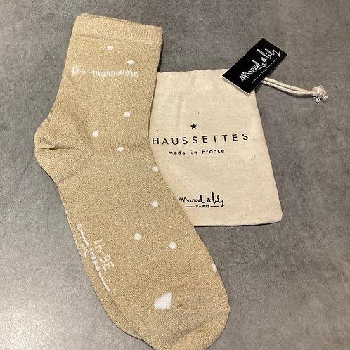 Chaussettes fée Marraine
