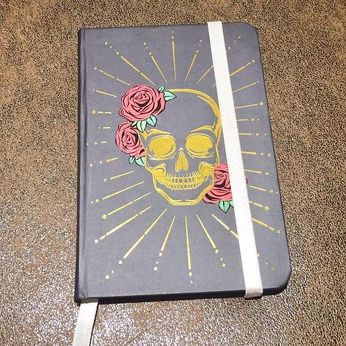carnet de note skulls & roses