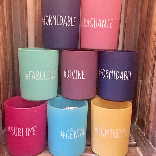 Bougies parfumées vanille #