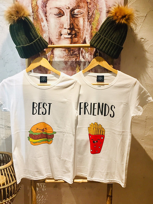 Tee-shirt Best / Friends