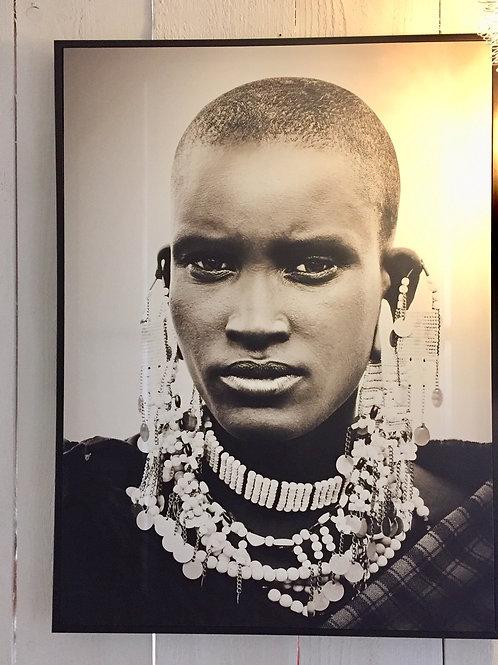 Tableau African Girl